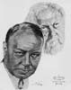 1927-28 (1st) Best Actor Volpe Sketch: Emil Jannings