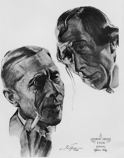 1929-30 (3rd) Best Actor: George Arliss