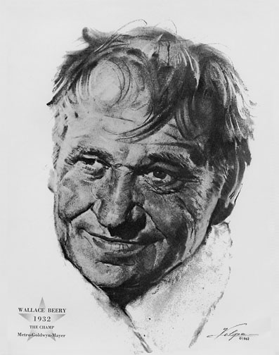 1931-32 (5th) Best Actor: Wallace Beery