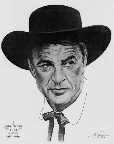 1952 (25th) Best Actor: Gary Cooper