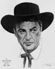 1952 (25th) Best Actor Volpe Sketch: Gary Cooper
