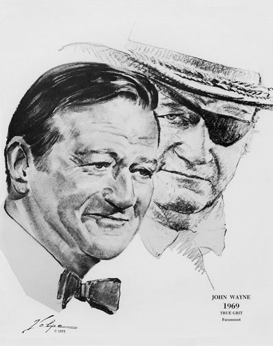 1969 (42nd) Best Actor: John Wayne