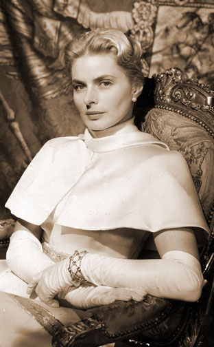 1956 (29th) Best Actress: Ingrid Bergman