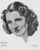 1929-30 (3rd) Best Actress Volpe Sketch: Norma Shearer