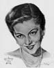 1941 (14th) Best Actress Volpe Sketch: Joan Fontaine