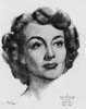 1945 (18th) Best Actress Volpe Sketch: Joan Crawford
