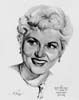 1950 (23rd) Best Actress Volpe Sketch: Judy Holliday