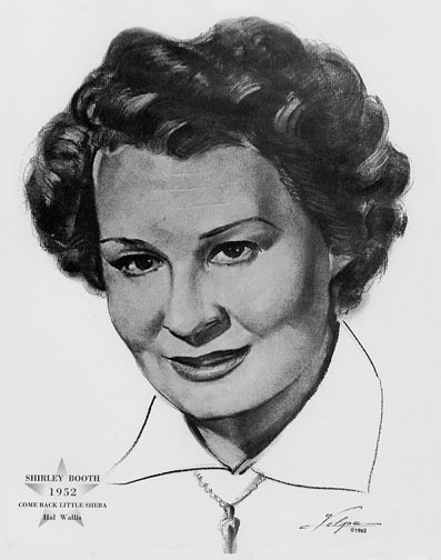 1952 (25th) Best Actress: Shirley Booth