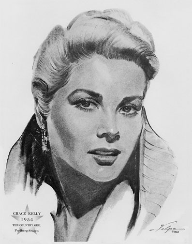 1954 (27th) Best Actress: Grace Kelly