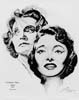 1963 (36th) Best Actress Volpe Sketch: Patricia Neal