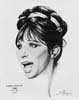 1968 (41st) Best Actress Volpe Sketch: Barbra Streisand