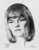 1973 (46th) Best Actress Volpe Sketch: Glenda Jackson