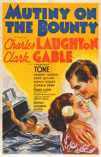 "1935 (8th) Best Picture: ""Mutiny on the Bounty"""