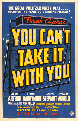 "1938 (11th) Best Picture: ""You Can't Take It with You"""