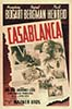 "1943 (16th) Best Picture Poster: ""Casablanca"""