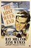 "1945 (18th) Best Picture Poster: ""The Lost Weekend"""