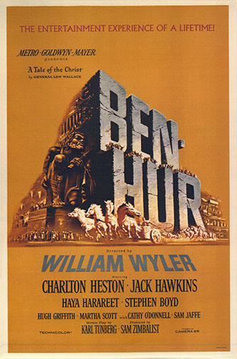 "1959 (32nd) Best Picture: ""Ben-Hur"""