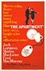 "1960 (33rd) Best Picture Poster: ""The Apartment"""