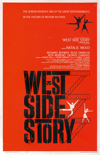 "1961 (34th) Best Picture: ""West Side Story"""
