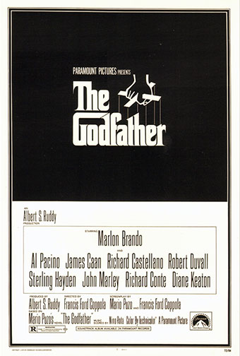 "1972 (45th) Best Picture: ""The Godfather"""