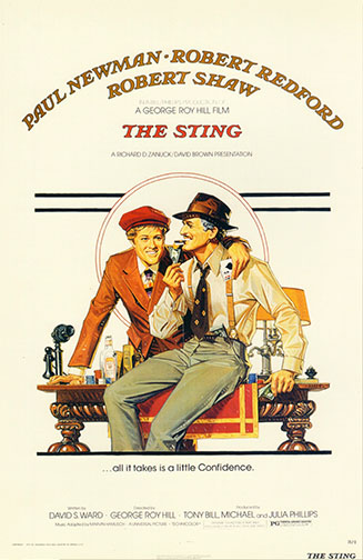 "1973 (46th) Best Picture: ""The Sting"""