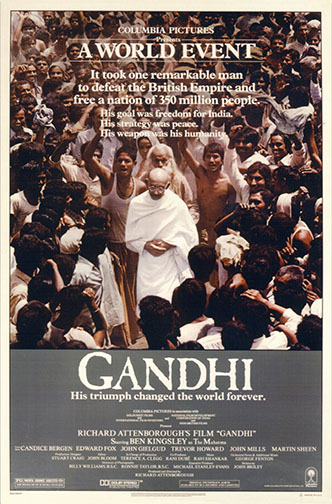 "1982 (55th) Best Picture: ""Gandhi"""