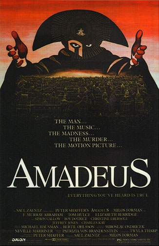 "1984 (57th) Best Picture: ""Amadeus"""