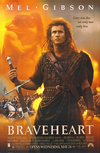 "1995 (68th) Best Picture: ""Braveheart"""