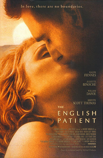 "1996 (69th) Best Picture: ""The English Patient"""