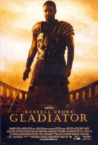 "2000 (73rd) Best Picture: ""Gladiator"""