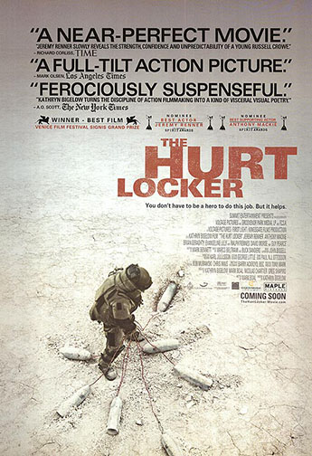 "2009 (82nd) Best Picture: ""The Hurt Locker"""
