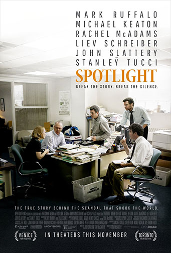 "2015 (88th) Best Picture: ""Spotlight"""
