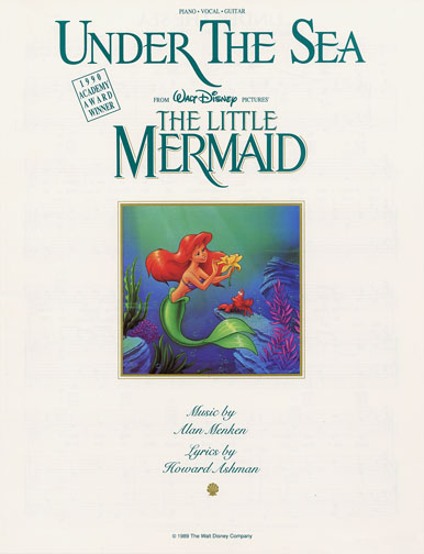 "1989 (56th) Best Song: ""Under the Sea"""
