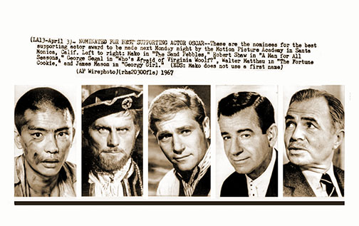 1966 Supporting Actor nominees