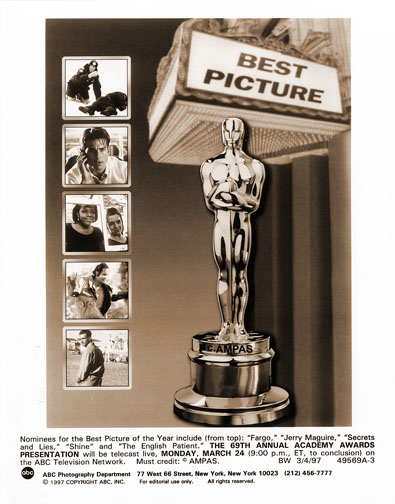 1996 Best Picture nominees