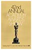 1969 (42nd) Academy Award Ceremony: 4/7/1970