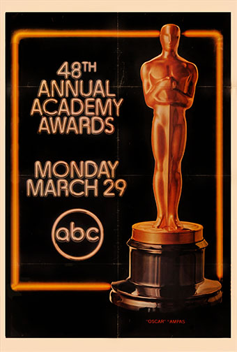 1975 (48th) Academy Award Ceremony Poster