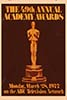 1976 (49th) Academy Award Ceremony: 3/28/1977