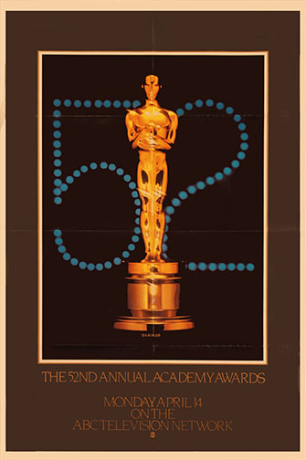 1979 (52nd) Academy Award Ceremony Poster