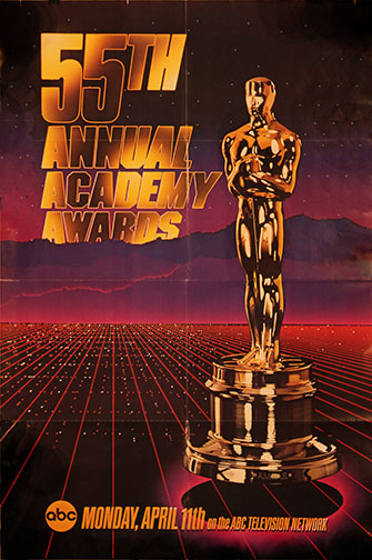 1982 (55th) Academy Award Ceremony Poster