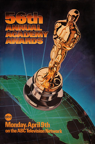 1983 (56th) Academy Award Ceremony Poster