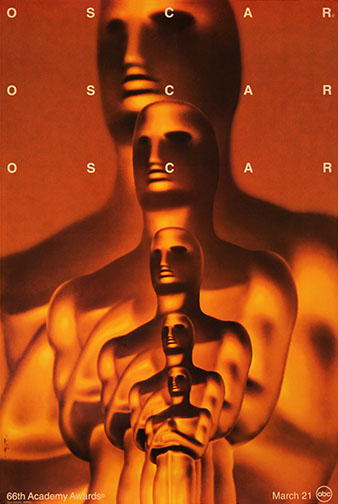 1993 (66th) Academy Award Ceremony Poster