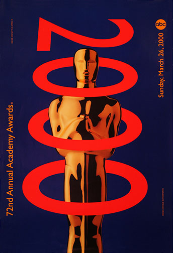 1999 (72nd) Academy Award Ceremony Poster