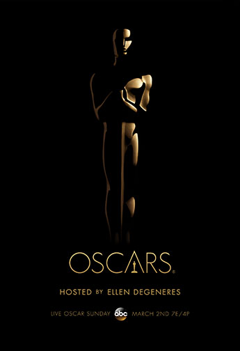 2013 (86th) Academy Award Ceremony Poster (Special Edition 2)