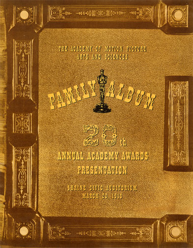 1947 (20th) Academy Award Ceremony Program