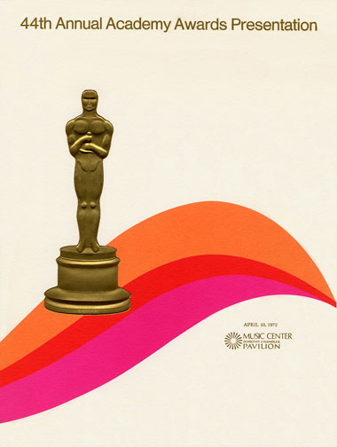 1971 (44th) Academy Award Ceremony Program