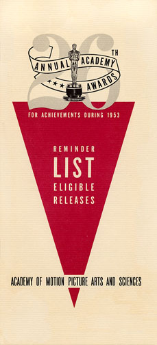 1953 (26th) Reminder List
