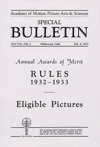 1932-33 (6th) Voting Rules