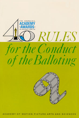1967 (40th) Voting Rules